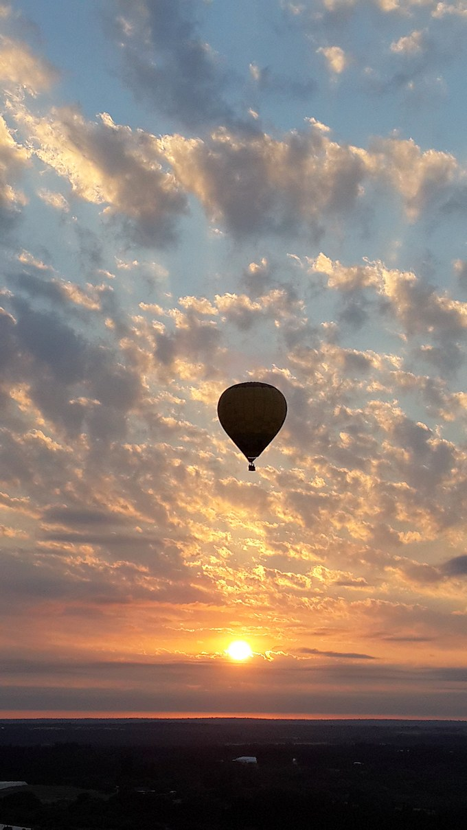 Images Of Hot Air Balloons By Sun Catchers